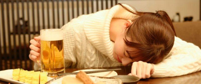 ストレスによる呑み過ぎ