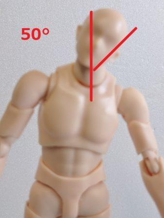 首の可動域横