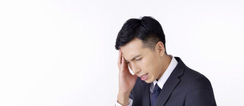 男性に多い緊張性頭痛
