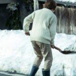 除雪のし過ぎで腰痛