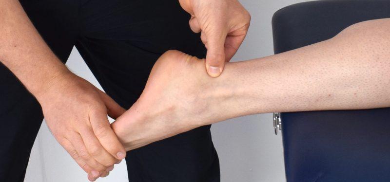 足首の関節