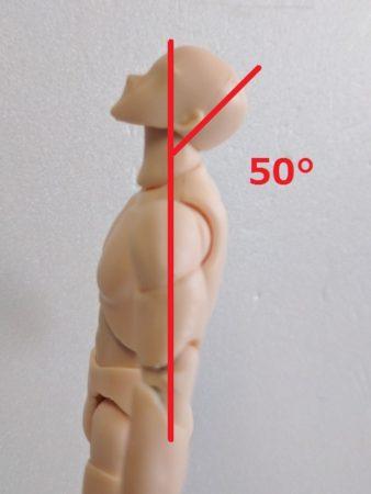 首の可動域伸展