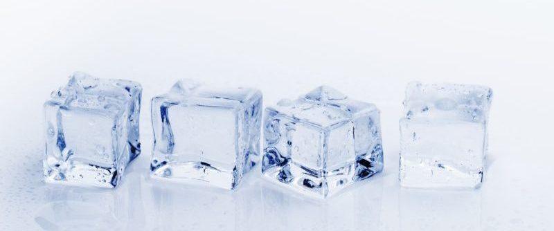 急性期は氷で冷やす
