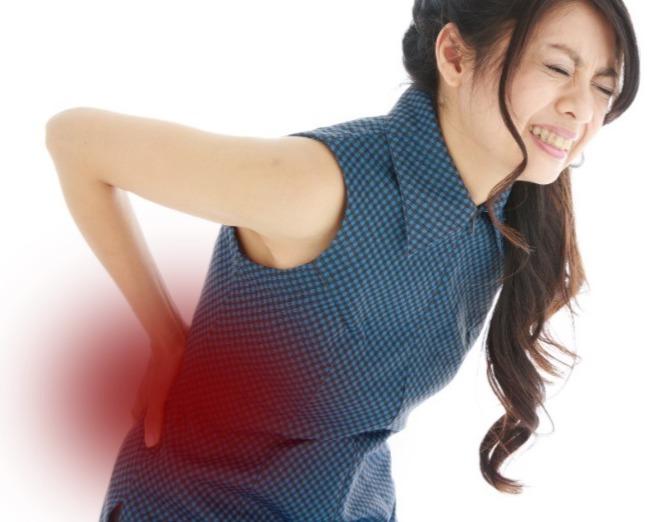 腰や股関節の症状