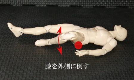 股関節の付け根の痛みを改善するマッサージ