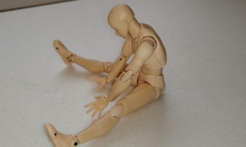 脊柱起立筋下部ストレッチ