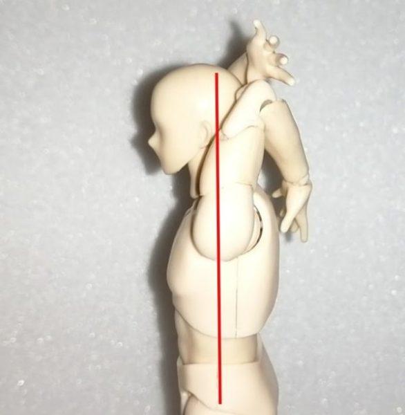 正しい広背筋のストレッチ