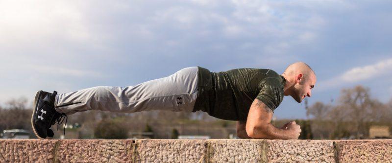 体幹を鍛えて腰痛予防