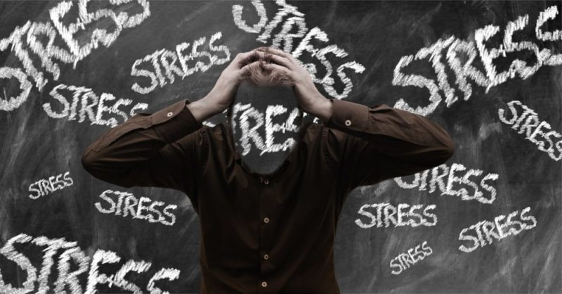 ストレスが原因の腰痛